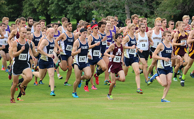 Men's Cross Country Places Second at OWU Invitational