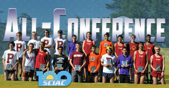 2015 SCIAC Men's Cross Country All-Conference Team