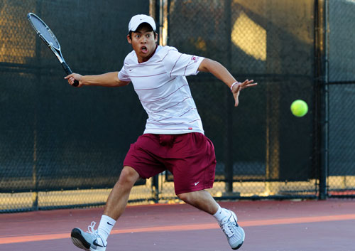 Santa Clara Men's Tennis Climbs to No. 31, Travels South for Two WCC Matches