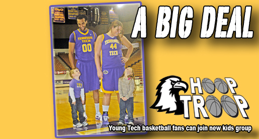 Hoop Troop forming: New kids' fan club for Tech Basketball teams