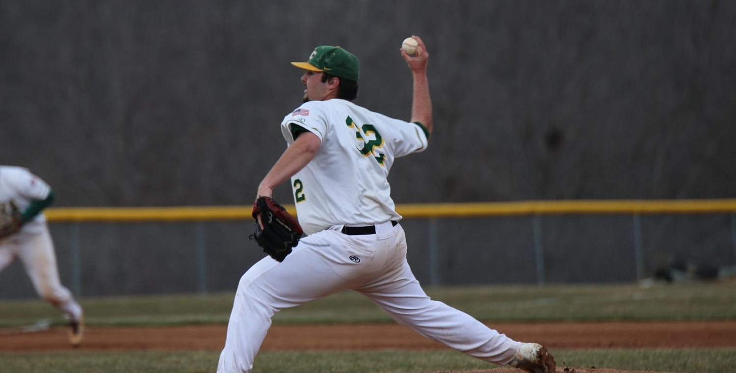 Zach Braster (32) threw 4.2 innings of scoreless relief for the Wolves -- Photo by Shelby Lamb