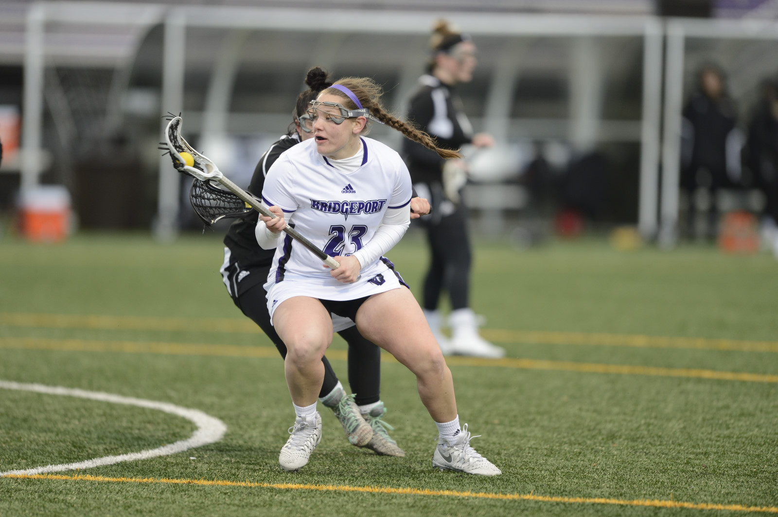 Courtney Forry Amasses 12 Points With Six Goals And Six Assists As UB Women's Lacrosse Tops Dominican, 19-15