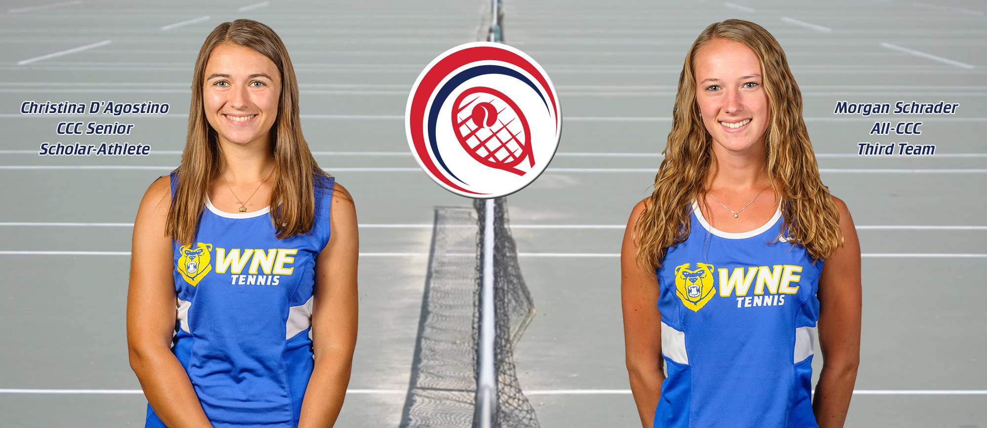 D'Agostino Named CCC Senior Scholar-Athlete, Schrader Earns All-CCC Third Team Honors