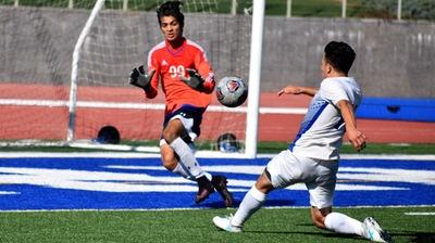 Luis Garcia scored the Falcons second goal in their 3-1 win.