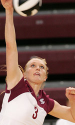 No. 9 Volleyball Hits Road To Begin Defense Of WCC Crown
