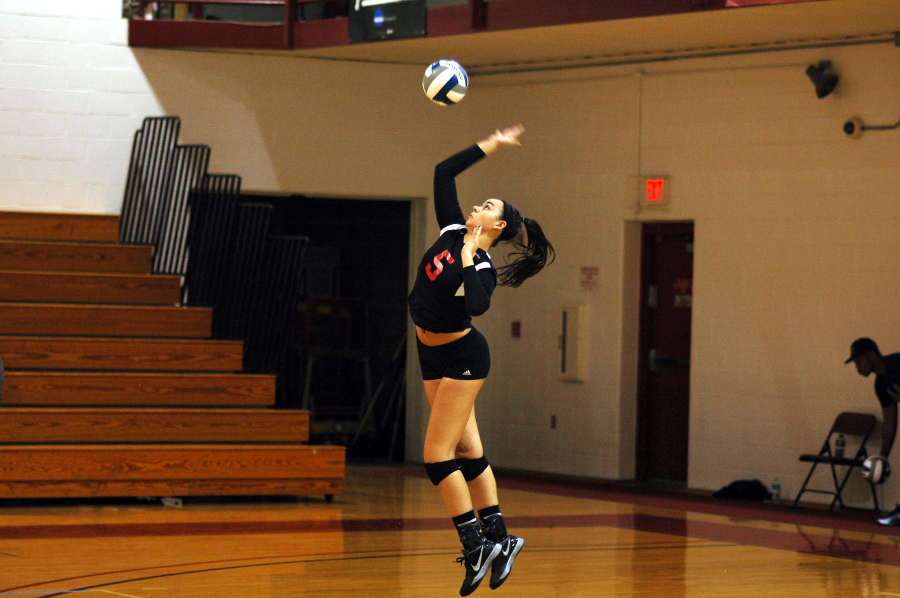 WOMEN'S VOLLEYBALL FALL ON FINAL DAY OF SKYHAWK INVITATIONAL