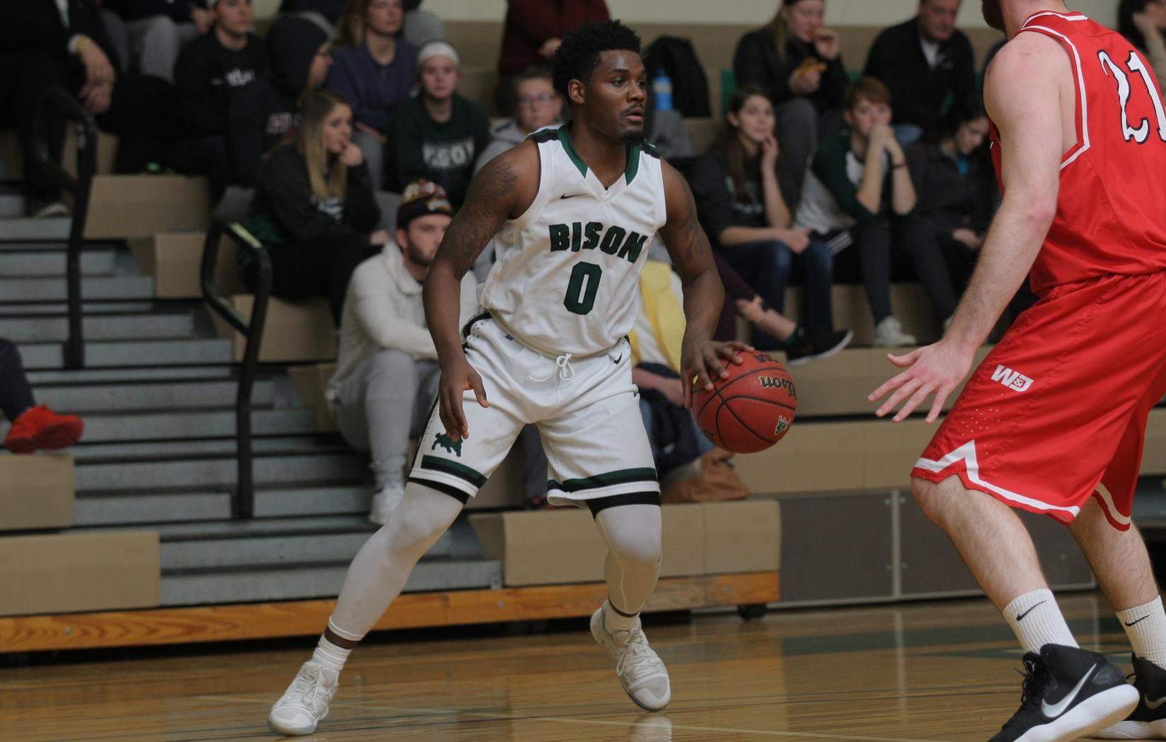 Bison rally falls short versus Medaille in ECAC Quarterfinals, 101-87