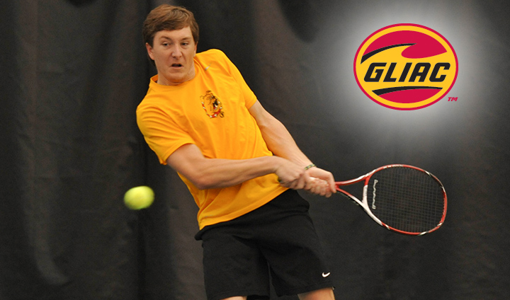 Ferris State Men's Tennis Opens GLIAC Tournament As Third Seed This Friday