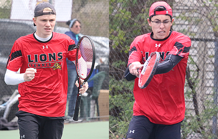Siercke, Rodriguez Claim GNAC Major Awards as Men's Tennis Earns Six All-GNAC Accolades