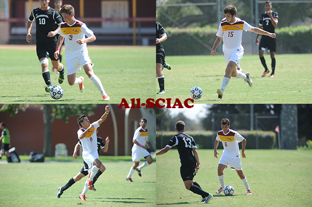 Four Stags named to All-SCIAC Soccer Team; Crowley Newcomer of the Year