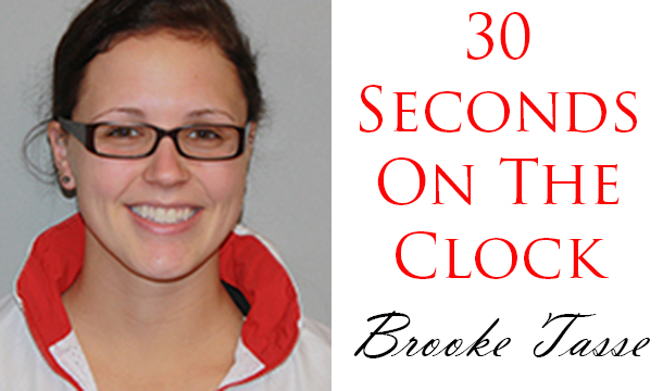 30 Seconds On The Clock: Brooke Tasse, Women's Swimming
