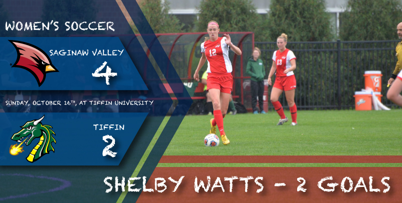 SVSU bounces back with 4-2 win at Tiffin