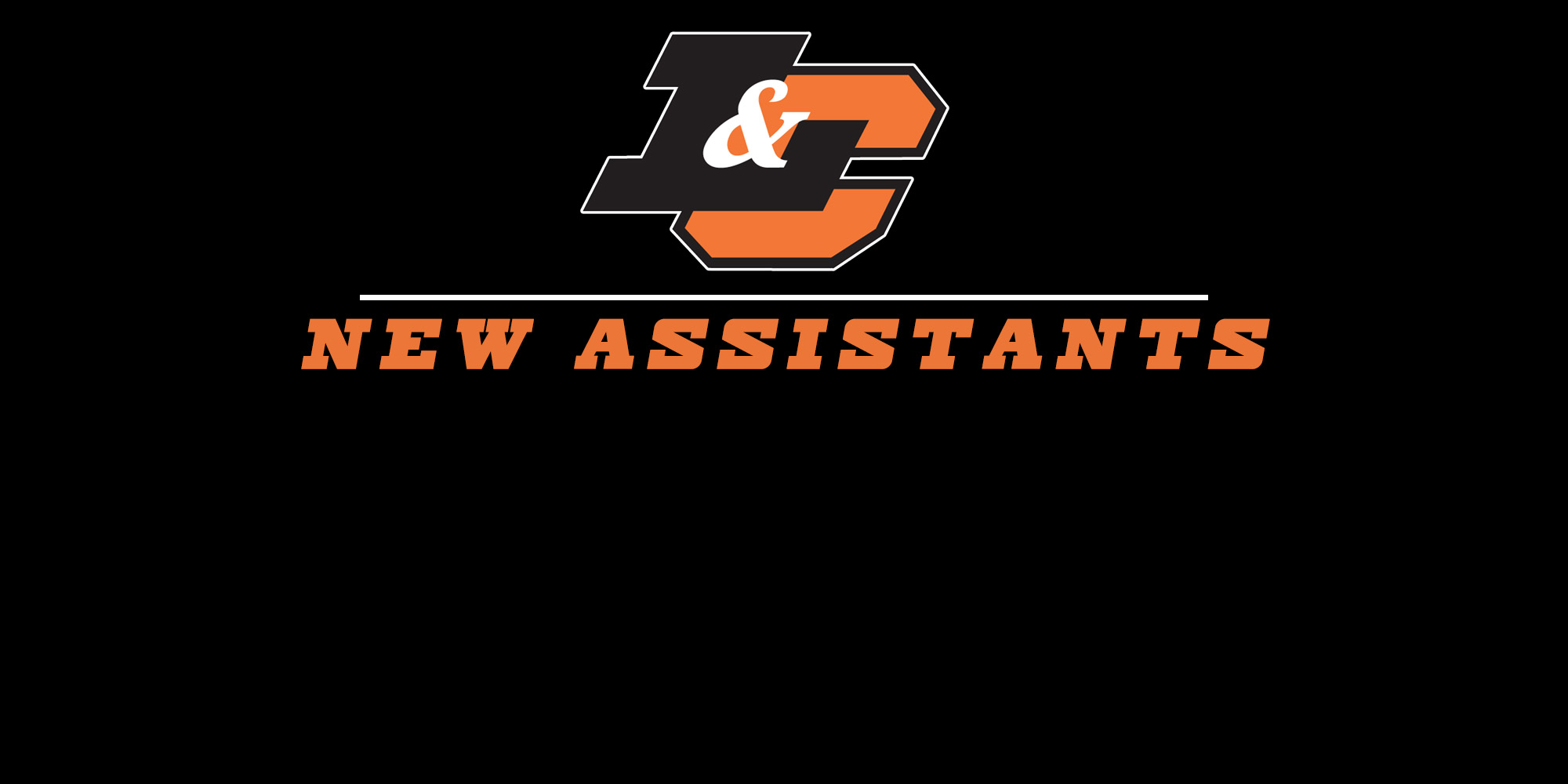 Introducing new assistants for 2018-19