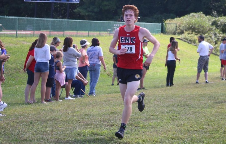 Men's Cross Country Places Fourth at Mass. Maritime Invitational