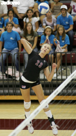 Kelley Named WCC Volleyball Player of the Month