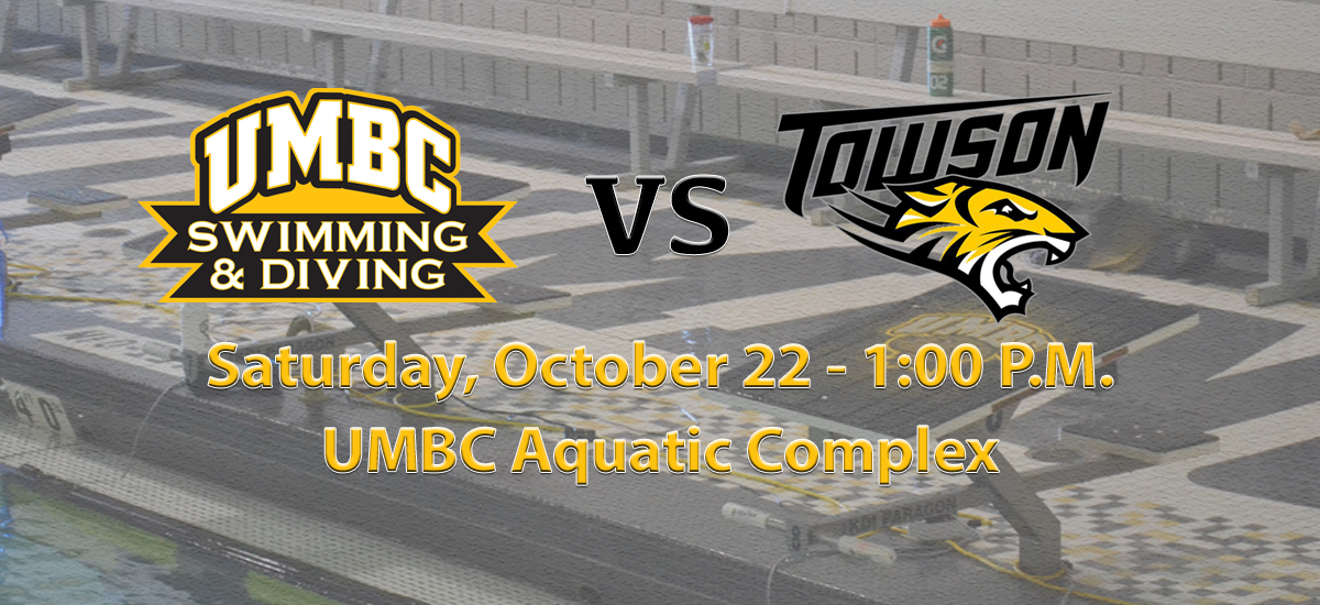 Swimming and Diving Opens Home Schedule on Parents/Kickoff Weekend Against Towson on Saturday