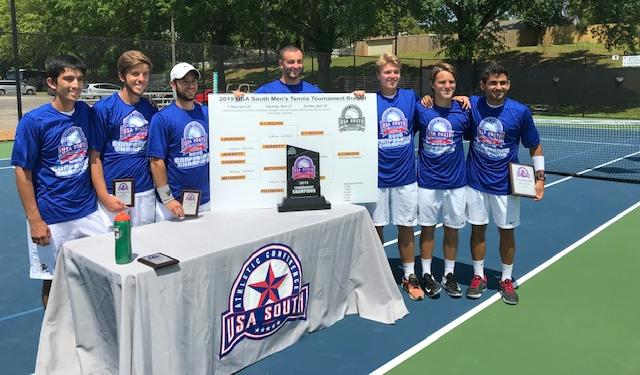 Men's Tennis Sweeps All-Conference Awards