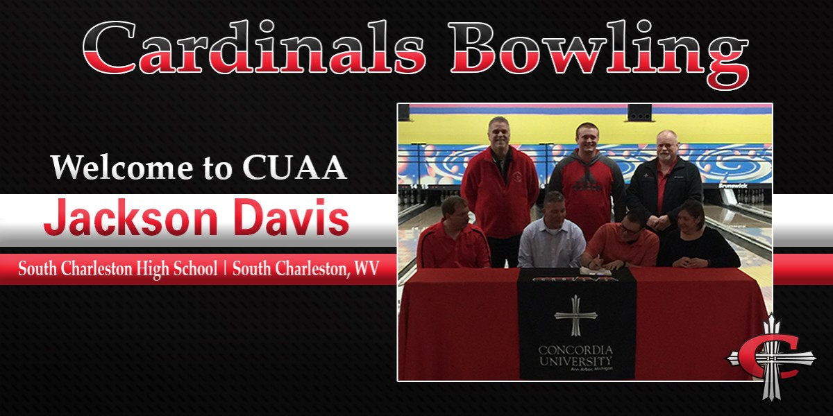 Photo for Concordia Bowling signs West Virginia native Jackson Davis