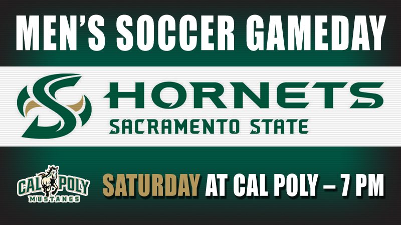 MEN'S SOCCER VISITS SURGING CAL POLY SATURDAY