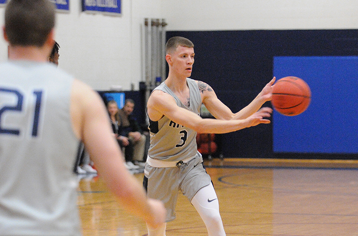 Men's Basketball: Raiders ousted by Lasell in GNAC battle