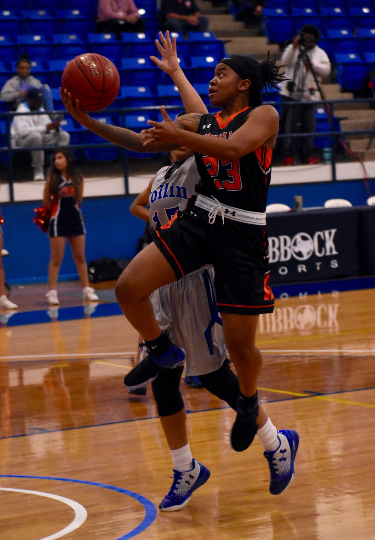 Despite valiant fourth quarter surge, Lady Texans fall to Collin County 77-70 in semifinal round of Region V Tournament