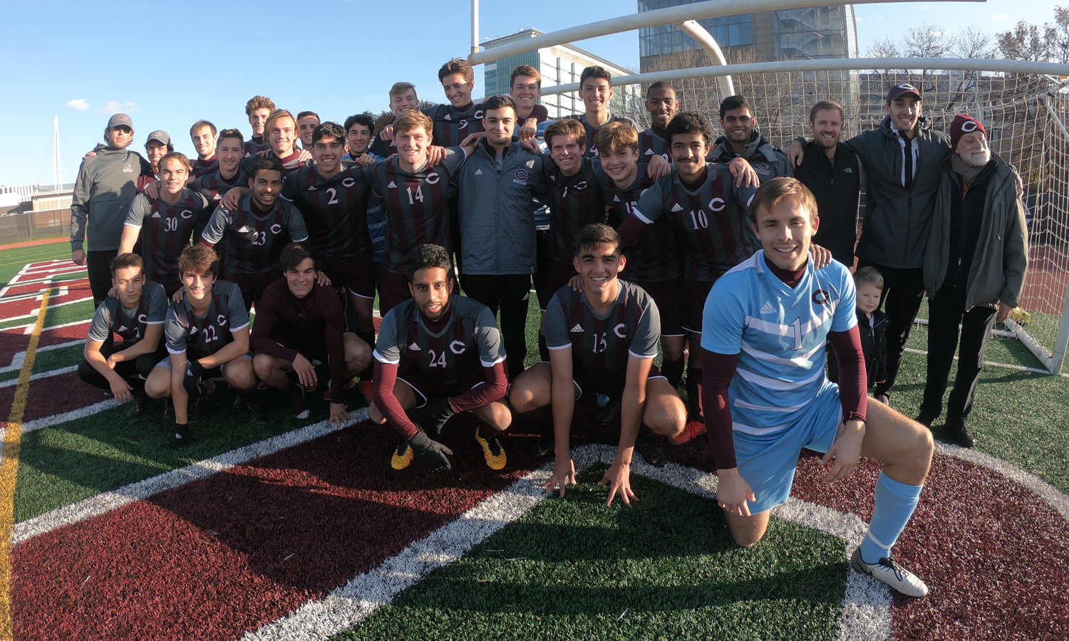 Maroon Men's Soccer Outlasts Carnegie Mellon 1-0, Secures Outright UAA Title