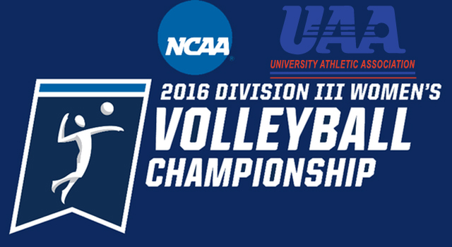 Three UAA Teams Earn Bids to NCAA Division III Volleyball Championship