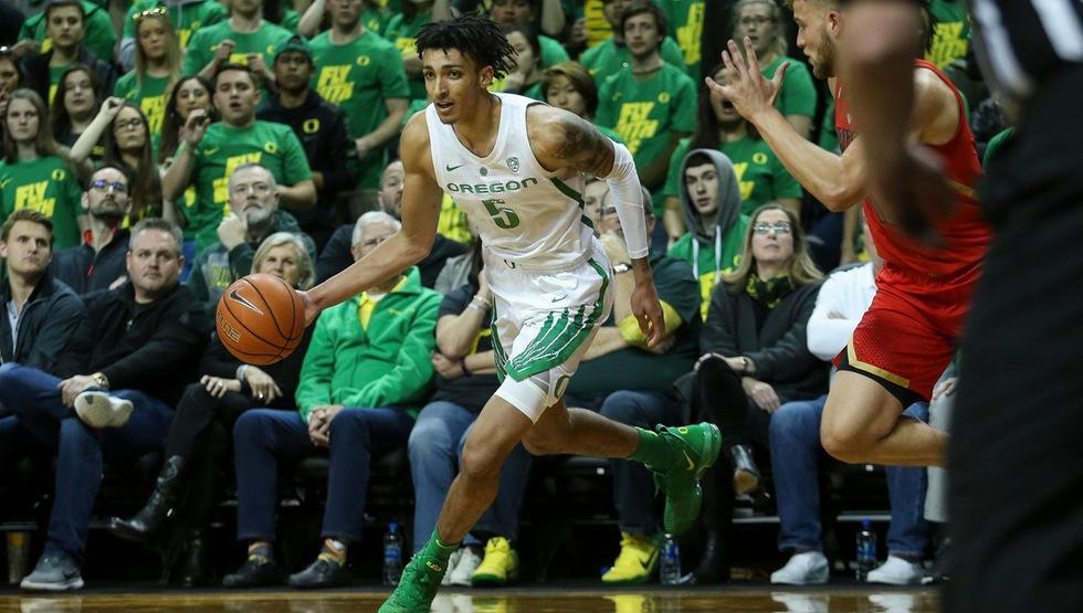 Miles Norris (Photo courtesy of University of Oregon Athletics)