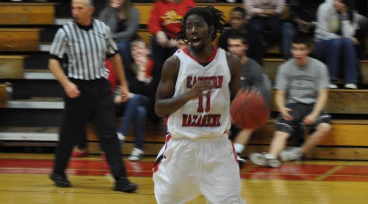 Men's Basketball Triumphs at Suffolk, 90-82