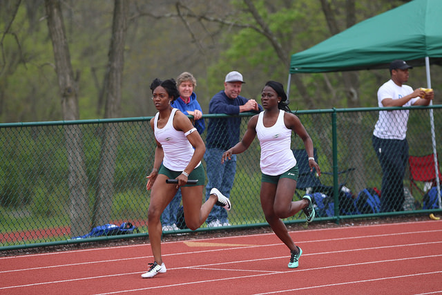 Mustangs' 4x100 Relay Team Places 18th at ECAC Outdoor Championships