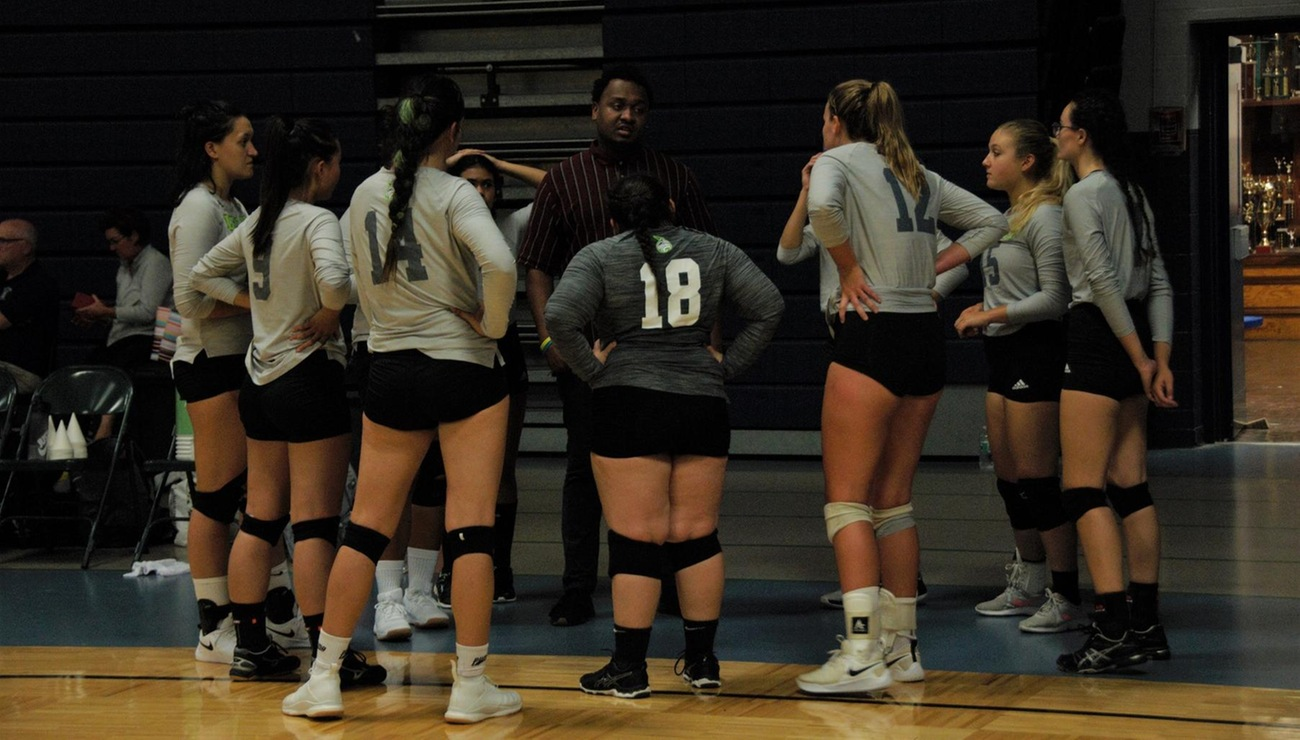 Rams Too Strong for Lynx Volleyball