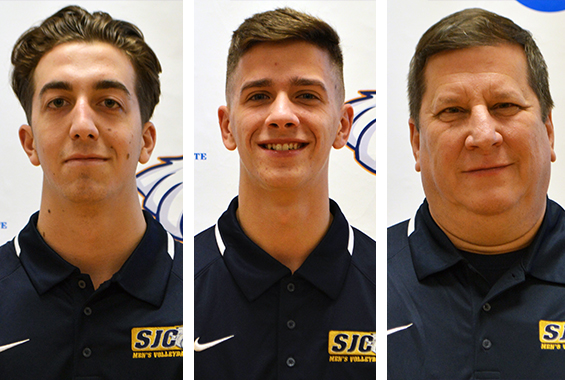 Men's Volleyball's Biggers, Curaro and Kropp Nab End of Year Skyline Honors
