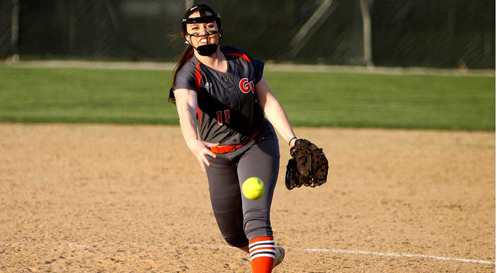 Softball wins one of two in Thursday slate