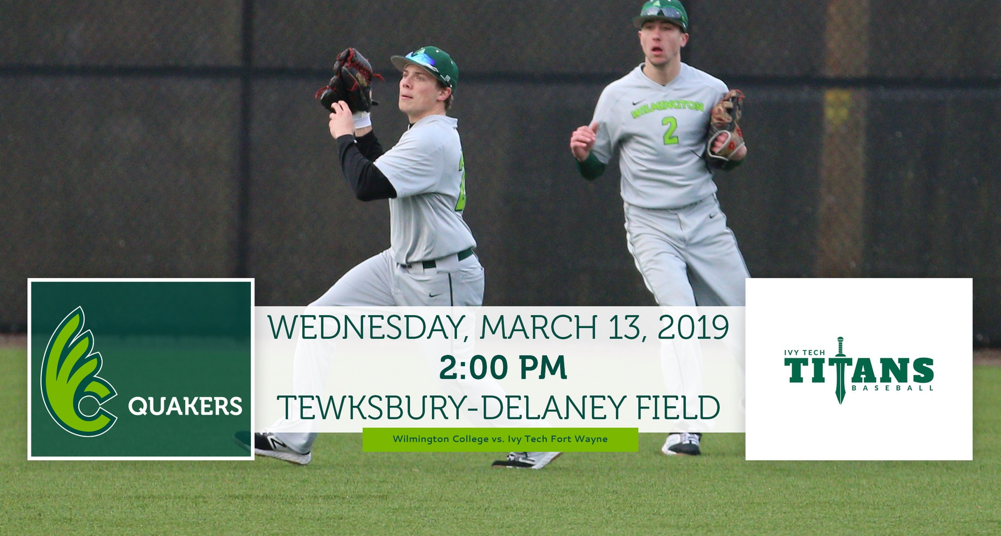 Baseball Hosts Ivy Tech Fort Wayne in Home Opener on Wednesday