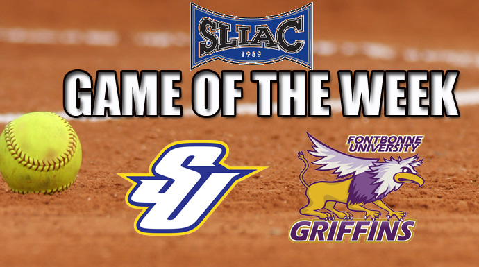 SLIAC Game of the Week - Spalding at Fontbonne (Softball)