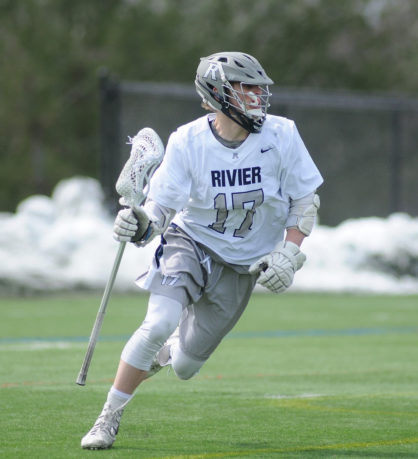 Men's Lacrosse: Raiders suffer first loss of the season to Monks, 13-7.