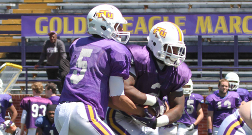 Stone sets tone as offense sparkles in Spring Scrimmage