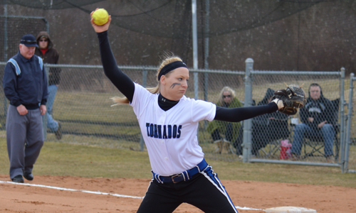 Hrobak held the Pacers scoreless for the final three innings to earn her first career save
