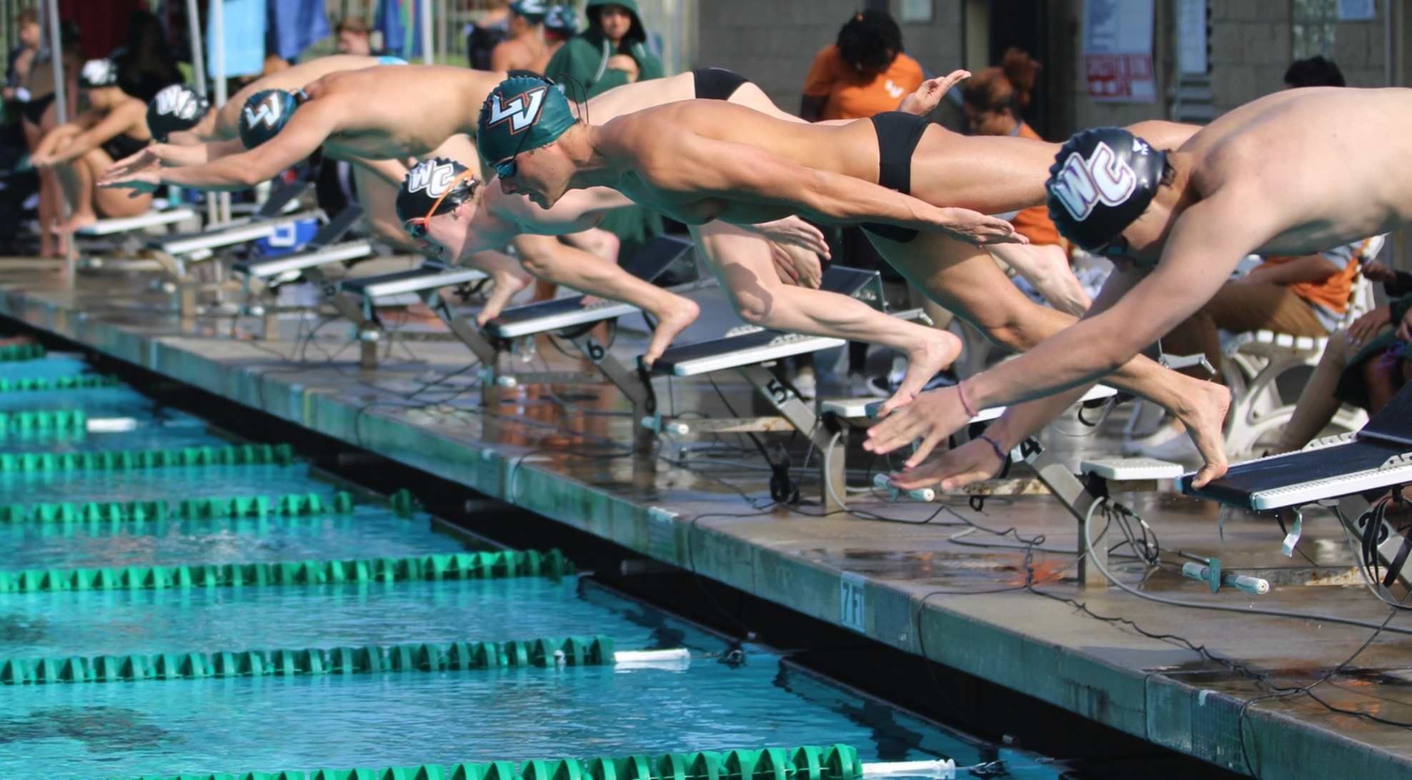 Swim and Dive teams earn exciting wins over Poets