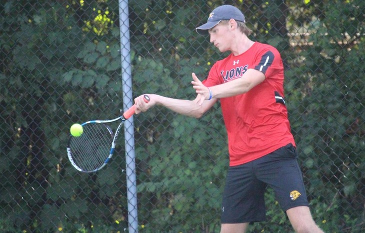 Shorthanded Men's Tennis Stumbles at Salem State, 7-2