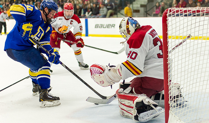 Motte Recognized As Bulldogs Claim A WCHA Weekly Honor For Seventh-Straight Week