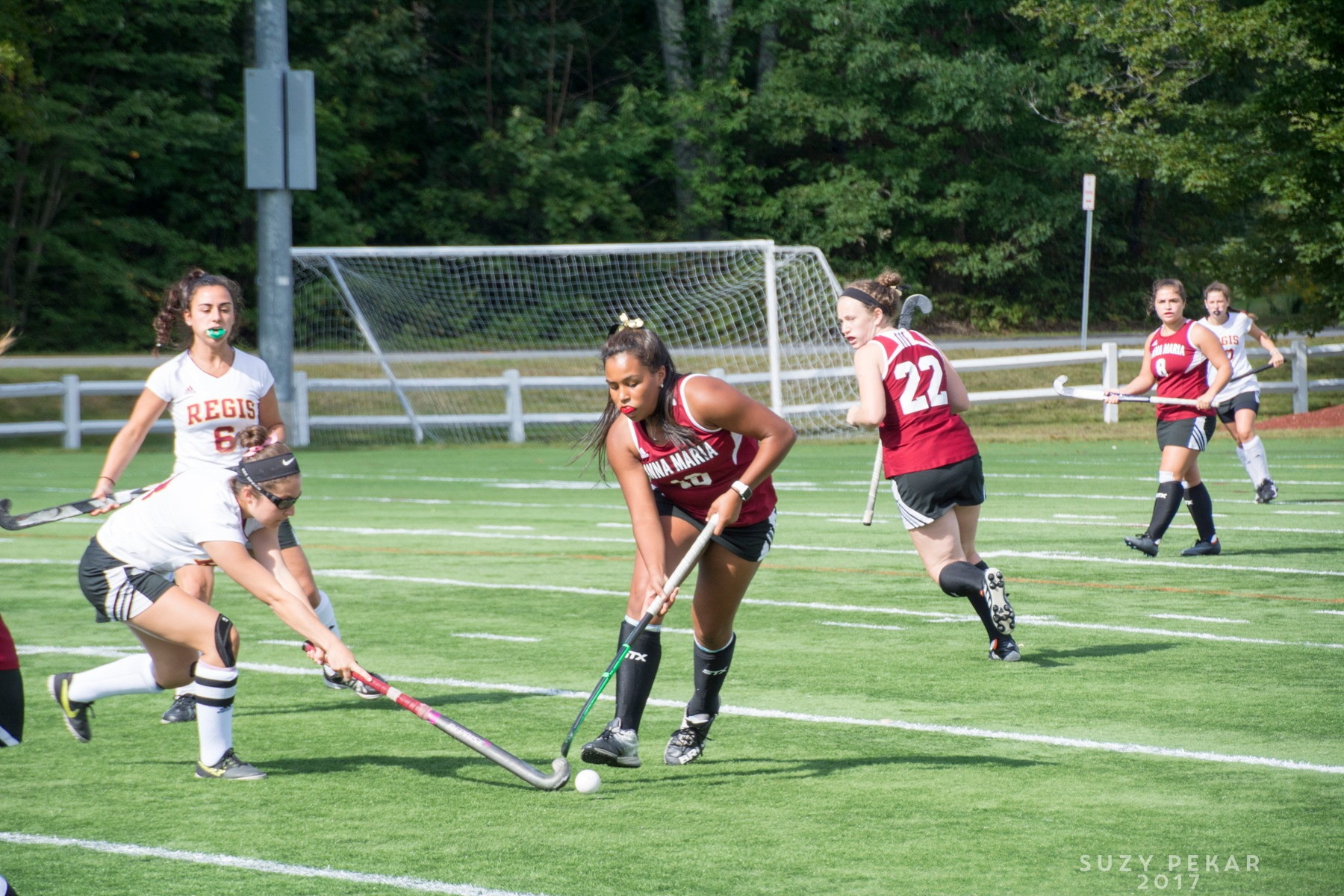 FIELD HOCKEY: Anna Maria blanked by Bridgewater State