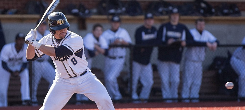 GU's Casey Hicks earns honorable mention selection for NCBWA Division III Hitter of the Week