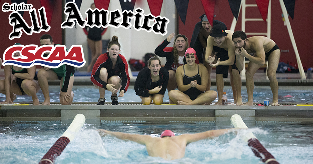 Catholic Earns CSCAA Scholar All-America Honors