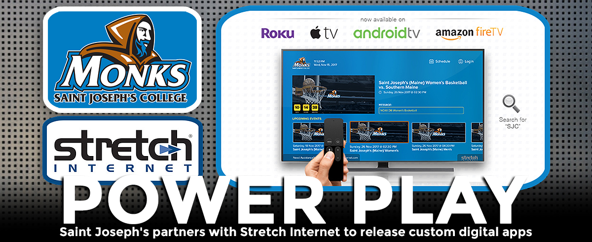 Saint Joseph's and Streaming Partner Stretch Internet Release Custom Digital Apps