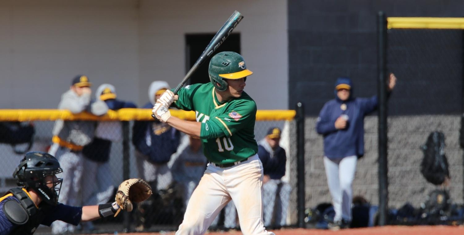 John Rizzo recorded his 100th career hit for Keuka College on Saturday