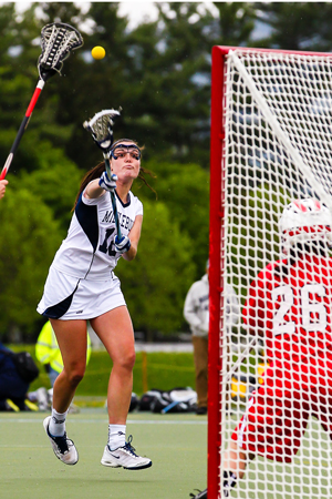 Women's Lacrosse Has Little Trouble At Conn. College