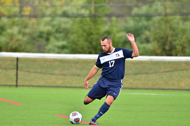 Men's Soccer Blanks Hiram 4-0