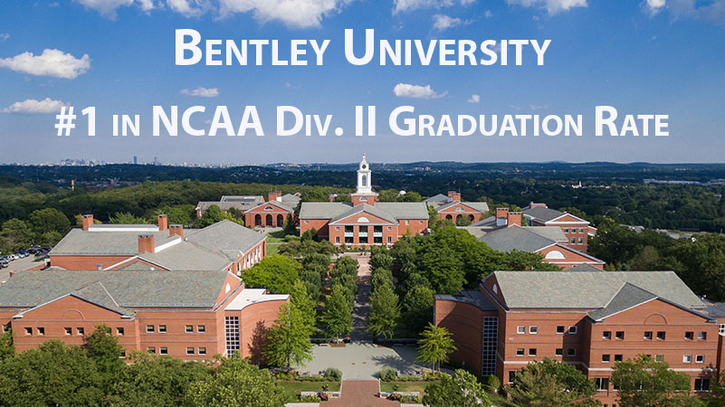 Bentley Student-Athletes Once Again Have Highest Graduation Rate in Division II