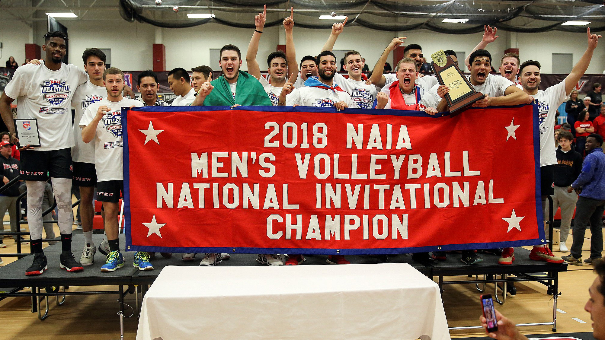Grand View (Iowa) Wins First National Invitational Title
